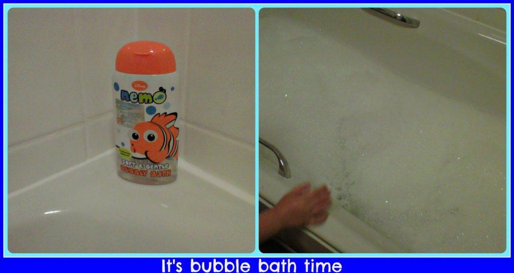 bubbly bath