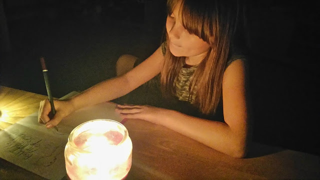 drawing by candle light - raisiebay.com