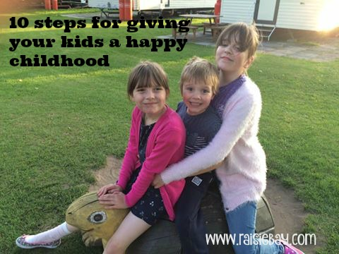 3 happy kids, please pin this to pinterest