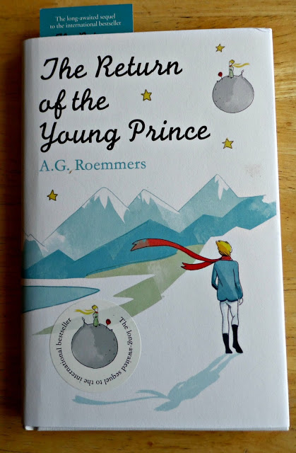 photo of the book, The Return of the Little Prince
