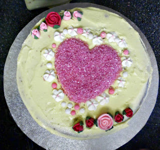 Boo's Valentines Cake