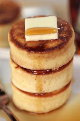 fluffy japanese pancakes