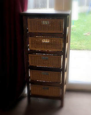 rattan direct 5 drawer storage rack