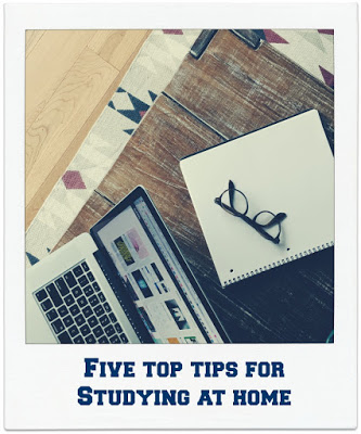 5 top tips for studying at home image