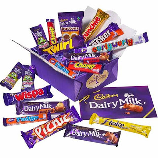 cadburys treasure box
