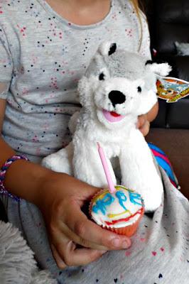 dogs birthday cupcake