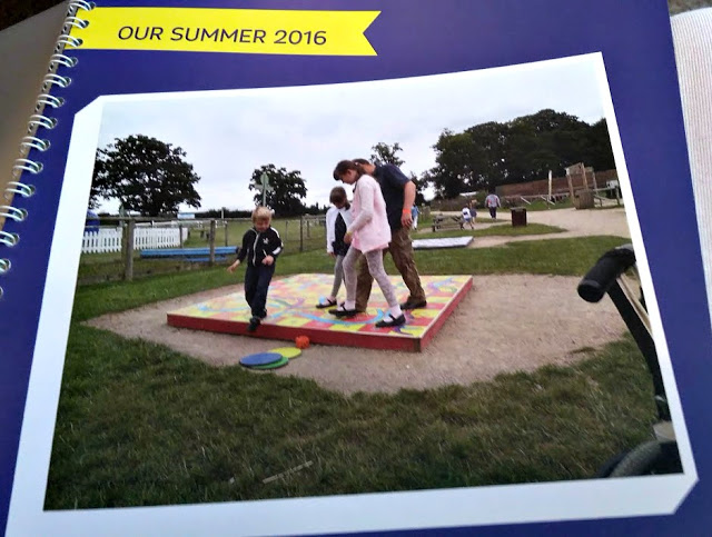summer memories photo book
