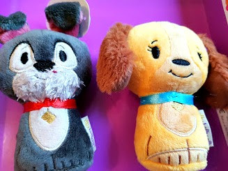 the lady and the tramp itty bitty soft toys