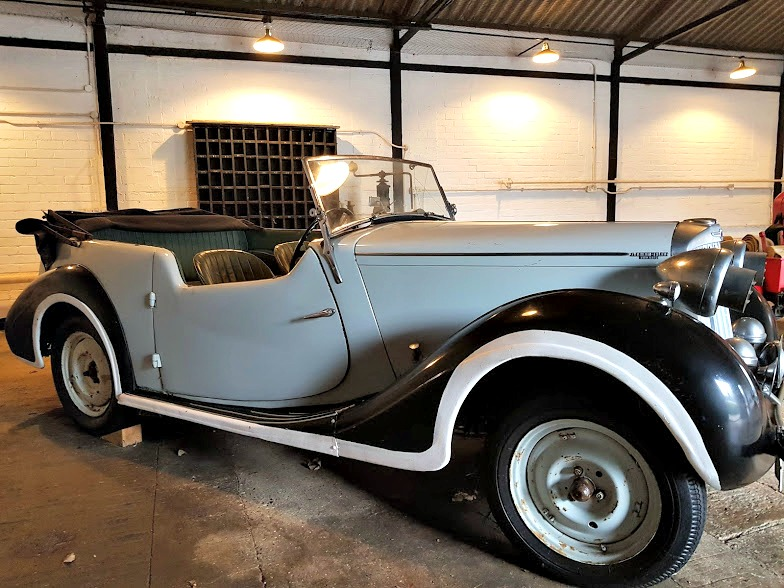 sunbeam talbot, donated by Mick Jagger to Bletchley Park