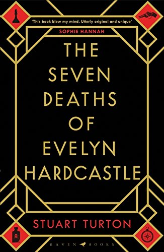 cover art for the seven deaths of Evelyn Hardcastle